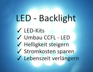 LED-Backlight Kits, Stripes und Inverter